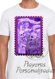 Playera Día de Muertos