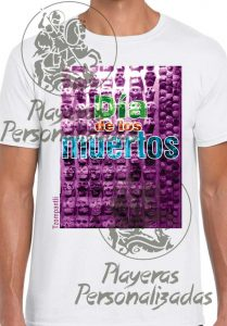 Playera Día de Muertos  bd5d389c4cdf0