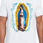Playera Virgen de Guadalupe para peregrinación