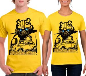 Playeras Bumblebee Transformers