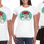 Playeras Navidad en Familia