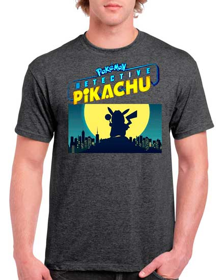 Playeras Detective Pikachu Pokemon
