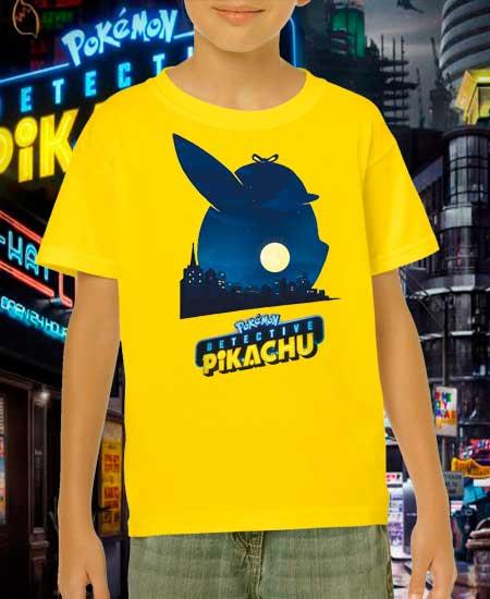 Playera para niños Detective Pikachu|